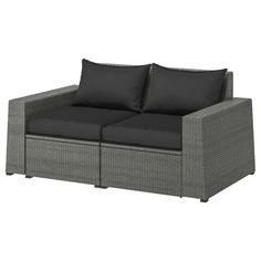 IKEA offers everything from living room furniture to mattresses and bedroom furniture so that you can design your life at home. Check out our furniture and home furnishings! Outdoor Seat Pads, Outdoor Cushion Covers, Outdoor Cushions, Outdoor Sofas, Modular Corner Sofa, Modular Sofa, Ikea Outdoor, Outdoor Furniture, Garden Furniture