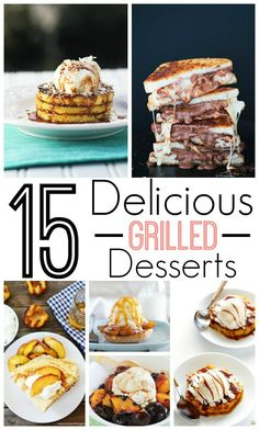 15 Delicious Desserts on the Grill! Grilling Recipes for Spring and Summer! You will want to try these at your next barbecue! 15 Delicious Desserts on the Grill! Grilling Recipes for Spring and Summer! You will want to try these at your next barbecue! Mini Desserts, Grilled Desserts, Summer Desserts, Easy Desserts, Summer Recipes, Delicious Desserts, Dessert Recipes, Yummy Food, Grilled Food