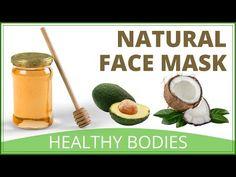 How To Make A Natural Face Mask | Avocado Honey & Coconut Oil Facial - YouTube