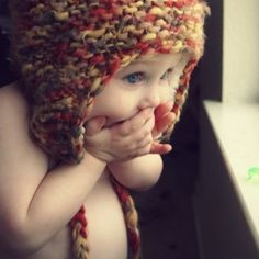 I'm going to knit for my baby