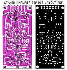 Electronics Projects, Electronic Circuit Projects, Electronics Basics, Hobby Electronics, Crown Amplifier, Hifi Amplifier, Class D Amplifier, Circuit Board Design, Printed Circuit Board