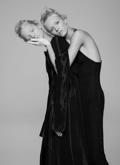 Sasha Luss And Daria Strokous By Pierre Debusschere For V #94 Spring 2015 eksterblog.com