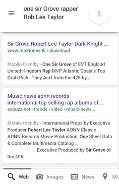 One Sir Grove Rob Lee Taylor White Caucasian Black AfroAsiatic European-American Rap Scientist of the 495 Aerospace Defense Network Private Military Company Research Science Organization & Multimedia Global Industries
