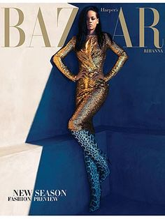 Now that's an outfit. Rihanna's Harper's Bazaar cover