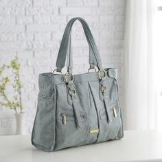 love it!!! Timi and Leslie Dawn Convertible Diaper Bag - Cloud Blue - Designer Diaper Bags at Diaper Bags