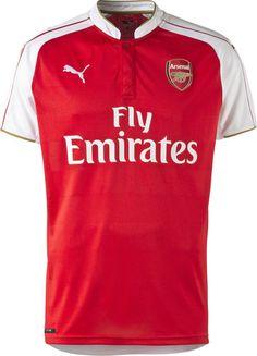 fadfc5567e6 Arsenal Soccer Jersey Shirt Replica 2015-16 EPL English Premier League Euro  Champion
