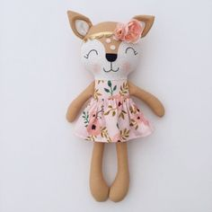 Rustic Nursery, Woodland Nursery, Wood Nursery, Rustic Baby, Sewing Toys, Sewing Crafts, Free Sewing, Sewing Ideas, Fabric Toys