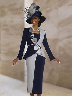 Church Suits by Ben Marc - Spring 2018 Church Dresses For Women, Church Suits And Hats, Women Church Suits, Church Attire, Church Hats, Church Outfits, Suits For Women, Clothes For Women, Church Clothes