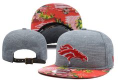 NFL DENVER BRONCOS SNAPBACKS Caps Strapback Hats Grey Plant Style Brim|only US$8.90