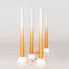 Gradient candle – Dutch orange by mo man tai 2013