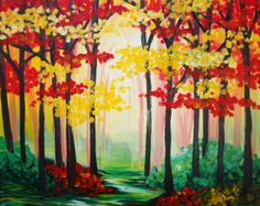 PINOT'S PALETTE STATEN ISLAND. PAINT. DRINK. HAVE FUN Autumn Hideaway