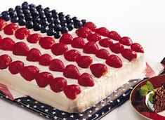 Stars and Stripes Cake #4thofJuly
