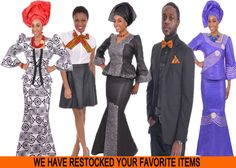 Dupsies ~ African clothing for men, women and children