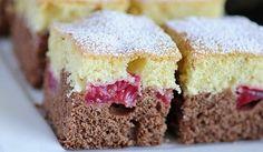 šľahačkový koláč s ovocím