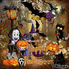 Happy Halloween Gif, Happy Halloween Pictures, Country Halloween, Snoopy Halloween, Halloween Wishes, Halloween Mantel, Halloween Rocks, Halloween Images, Halloween Quotes