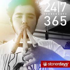 24 / 7 / 365  |  StonerDays™ stonerdays.com