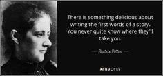 TOP 25 QUOTES BY BEATRIX POTTER | A-Z Quotes