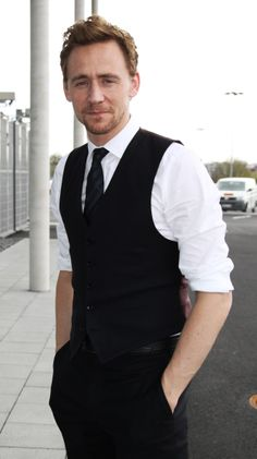My Loves: White shirt, sleeves rolled to the elbows. And its on tom hiddleston <3 love. love. love.