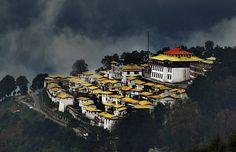 Tawang Monastery in Arunachal Pradesh. One of the largest monasteries in the world.