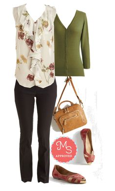 Summer Intern Top by modcloth on Polyvore featuring polyvore, fashion, style, POL, women's clothing, women's fashion, women, female, woman, misses, juniors, Spring, outfit, layers and modcloth