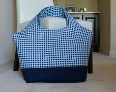 Poolside Tote pattern and instructions