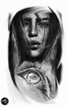 Tatuagem de olho tattoo eye tatuagem