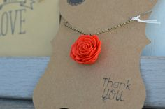 Handmade mother's day gift - red rose polymer clay pendant 😍 now available in my online store:  https://www.etsy.com/ca/listing/499870156/original-mothers-day-gift-i-love-you-mom