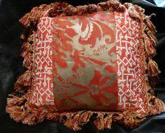 Fortuny Mosaic Designer Accent Pillow Rabat by ElegantArtifacts, $75.00