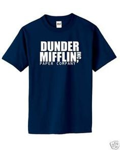 The Office Funny T Shirt Dunder Mifflin Paper Company Humor Offensive Rude Shirt High Quality Gift TShirt on Etsy, $11.95