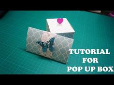 Tutorial for Pop Up Box | The Sucrafts - YouTube