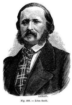 Edouard-Léon Scott de Martinville