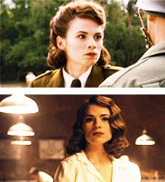 wishing a happy birthday to the one and only roboticonography! i give you the one and only peggy carter in honor of agent carter also getting greenlit on this wonderful day ♥♥♥ Marvel Women, Marvel Heroes, Marvel Avengers, Peggy Carter, Marvel Funny, Marvel Movies, Avengers Imagines, Hayley Atwell, And Peggy