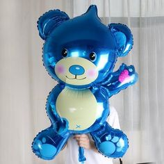 Big Sweet Bear Balloons-Balloons-TouchyStyle-Pink-TouchyStyle