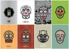 calaveras mexicanas / 2012