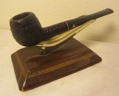 Kaywoodie Relief Grain Drinkless Sandblast Apple Briar Estate Tobacco Pipe #42