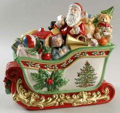 Spode Santa Cookie Jar