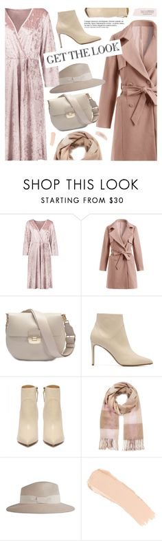"""Pink"" by pokadoll ❤ liked on Polyvore featuring Furla, Miss Selfridge, Reiss, La Mer and Anja"