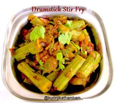 Drumstick Sambar has become so stereotype that it has become the only way to have Drumstick. A good alternative recipe for Drumstick i...