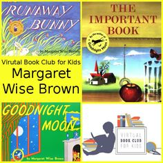 March Virtual Book Club: Margaret Wise Brown - 3Dinosaurs.com