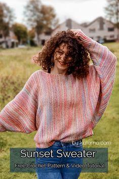 Crochet Jacket, Crochet Cardigan, Crochet Shawl, Crochet Stitches, Knit Crochet, Free Crochet, Crochet Sweaters, Crochet Tops, Crochet Jumper Pattern