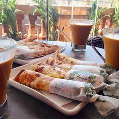 Ontbijt in Marokko