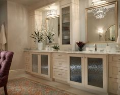 South Tampa Master Bathroom with Custom Cabinets and Storage Towers Interior Design Photos, Bathroom Interior Design, Kitchen Interior, Master Bath Vanity, Master Bathroom, Bathroom Mirrors, Bath Vanities, Custom Cabinets, Storage Cabinets