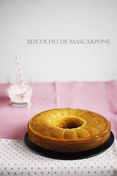 BIZCOCHO DE MASCARPONE