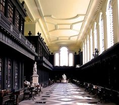 14 Stunning University Libraries | Codrington Library, All Soul's College at Oxford University – Oxford, UK