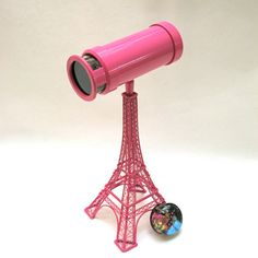 Kaleidoscope Art Poodles Hot Pink French Paris by judithpaulscopes, $290.00