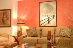 Idea de colores para pintar una habitación de forma cálida