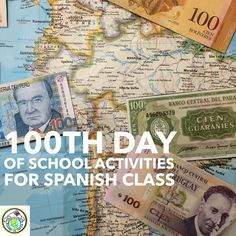 100th Day of School Activities for Spanish Class THREE Activities for all ages! Mundo de Pepita, Resources for Teaching Spanish to Children