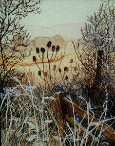 Sally Verrall - machine embroidery