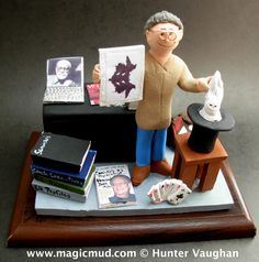 Psychiatrist's Custom made Christmas Gift  www.magicmud.com 1 800 231 9814 creating a custom made gift figurine for any man based on the things he likes to do! ...incorporating his work, sports, family, hobbies, food, drink, electronic gadgets, etc. $225  #doctor #therapist #shrink #psychiatrist #dad #men #guys #christmas #birthday #anniversary #custom #personalized #xmas #present #award #ChristmasGift #BirthdayGift #husband