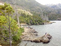 Lago Epuyén, al norte de Chubut